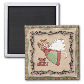 August Angel / Fairy Month Magnet