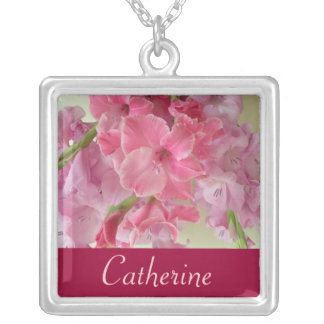 AUGUST Birth Flower - Gladiola Necklace