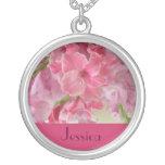 AUGUST Birth Flower - Gladiola Necklace