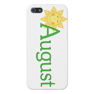 August Birth Month Themed iPhone 5 Case