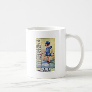 August Birthday Girl at the Beach Coffee Mug