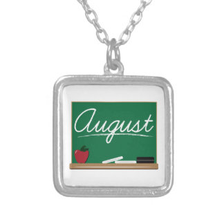 August Board Necklaces