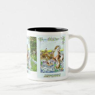 August, Hedgehog Birthday Mug