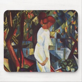 August Macke - A Couple In The Forest Mouse Pad