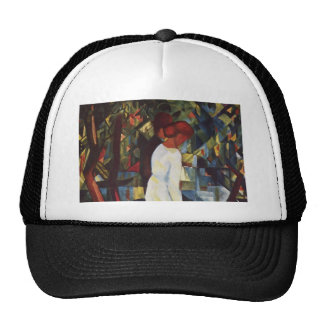 August Macke - A Couple In The Forest Trucker Hat