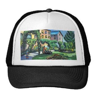 August Macke - A Garden Trucker Hat