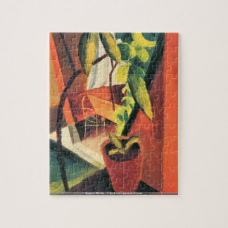 August Macke - A look into summer-house puzzle