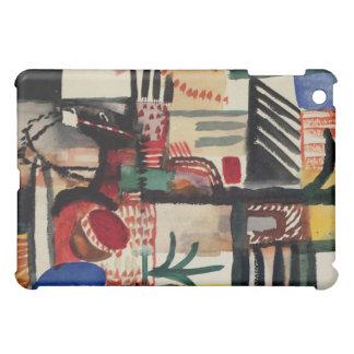 August Macke Abstract Fine Art iPad Skin iPad Mini Cases