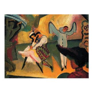 August Macke - ballet ruso Postales