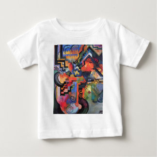 August Macke - Colored Composition Baby T-Shirt