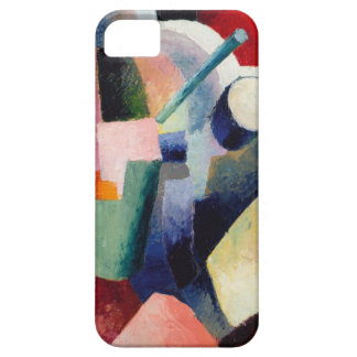 August Macke - Colored Composition of Forms iPhone SE/5/5s Case