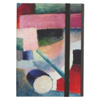 August Macke - composición coloreada de formas