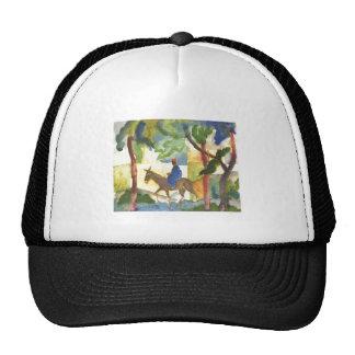 August Macke - Donkey Rider 1914 Eselreiter Trucker Hat