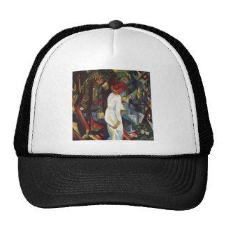 August Macke - Few in the Forest 1912 Canvas Trucker Hat