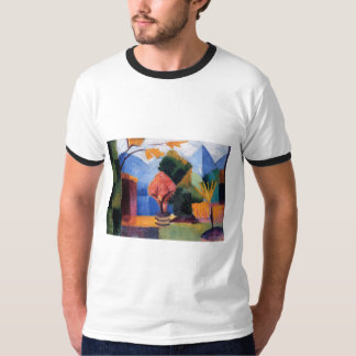 August Macke - Garden at Thuner Lake 1913 oil T-Shirt