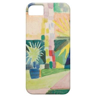 August Macke - Garden on Lake Thun iPhone SE/5/5s Case