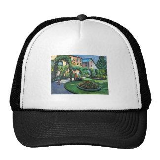 August Macke - Garden Picture 1911 oil on canvas Trucker Hat