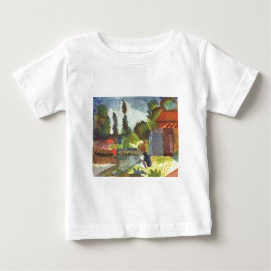 August Macke - Iceland Shank w/ sitting Arab 1914 Baby T-Shirt