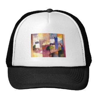 August Macke - Kairouan (III) 1914 Watercolor Trucker Hat