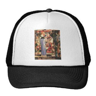 August Macke - Large Bright Shop Window 1912 Oil Trucker Hat