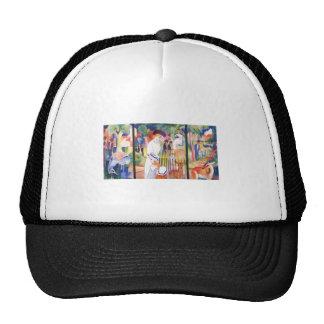 August Macke - Large Zoo Garden Triptychon 1913 Trucker Hat