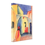 August Macke - Look in a lane Gallery Wrapped Canvas
