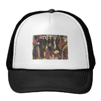 August Macke - Parting - Abschied 1914 oil canvas Trucker Hat