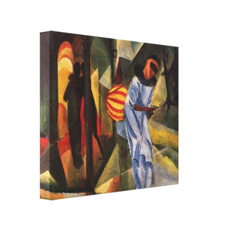 August Macke - Pierrot Stretched Canvas Prints