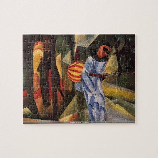 August Macke - Pierrot puzzle