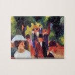 August Macke - Promenade II puzzle