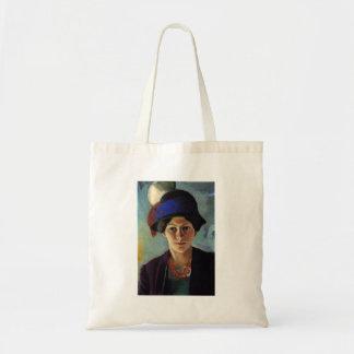 August Macke - retrato de la esposa del artista Bolsa Tela Barata