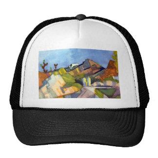 August Macke - Rocky Landscape Trucker Hat