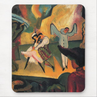 August Macke - Russian Ballet Mouse Pad