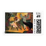 August Macke - Russian Ballet Postage Stamps