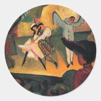 August Macke - Russian Ballet Sticker