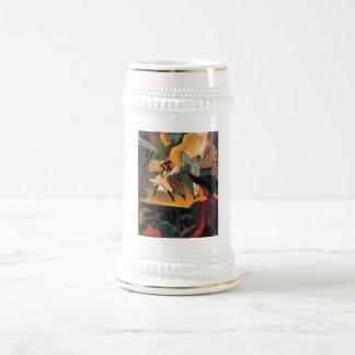 August Macke - Russisches Ballett 1912 Oil Ballet Coffee Mugs