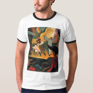 August Macke - Russisches Ballett 1912 Oil Ballet T-Shirt