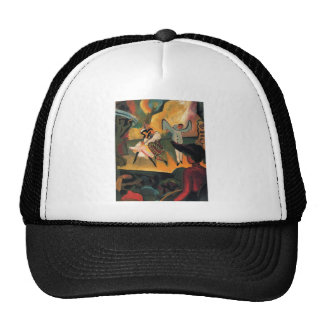 August Macke - Russisches Ballett 1912 Oil Ballet Trucker Hat
