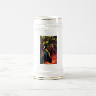 August Macke - Sonniger Weg - 1913 - Sunny Way Oil Mug