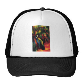 August Macke - Sonniger Weg - 1913 - Sunny Way Oil Trucker Hat