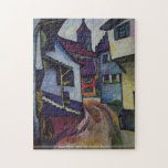 August Macke - Street with a church in Kandern puz Puzzles