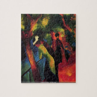 August Macke - Sunny way puzzle