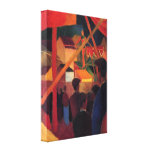 August Macke - Tightrope Stretched Canvas Print