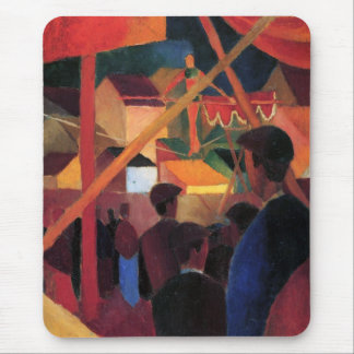 August Macke - Tightrope Walker Mouse Pad