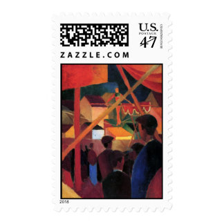 August Macke - Tightrope Walker Postage