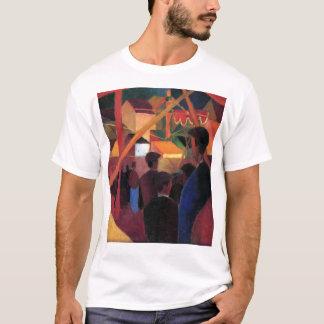 August Macke - Tightrope Walker T-Shirt