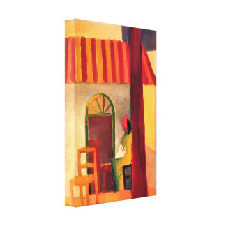 August Macke - Turkish Cafe Gallery Wrapped Canvas