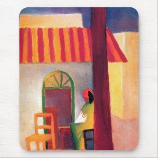 August Macke - Turkish Cafe I Mouse Pad