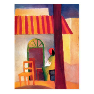August Macke - Turkish Cafe I Postcard