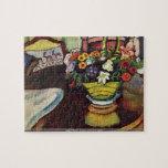 August Macke - venison and ostrich pillow puzzleve Puzzle